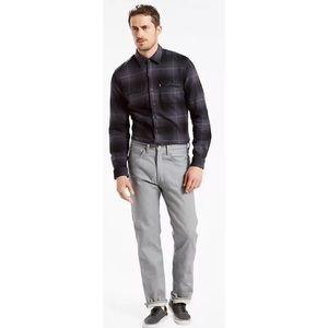 Levi 501 Original Fit Men's Jeans - Grey NWOT